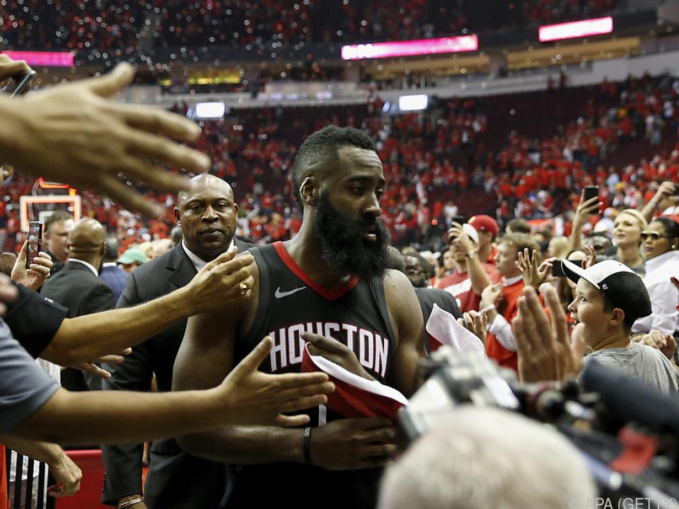 Houstons Harden war der Mann des Abends