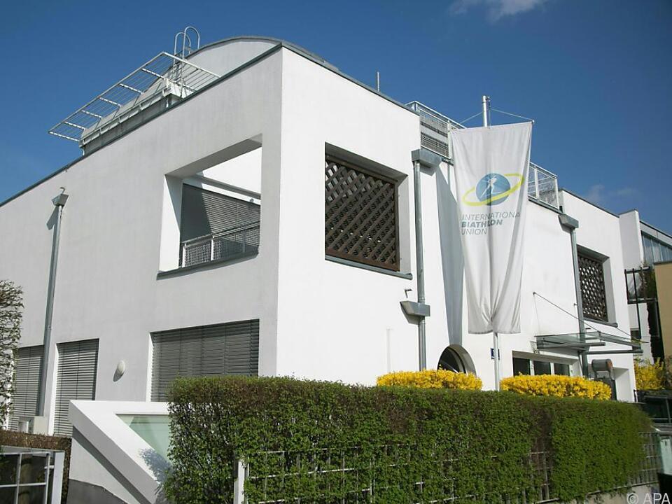 IBU-Sitz in Salzburg