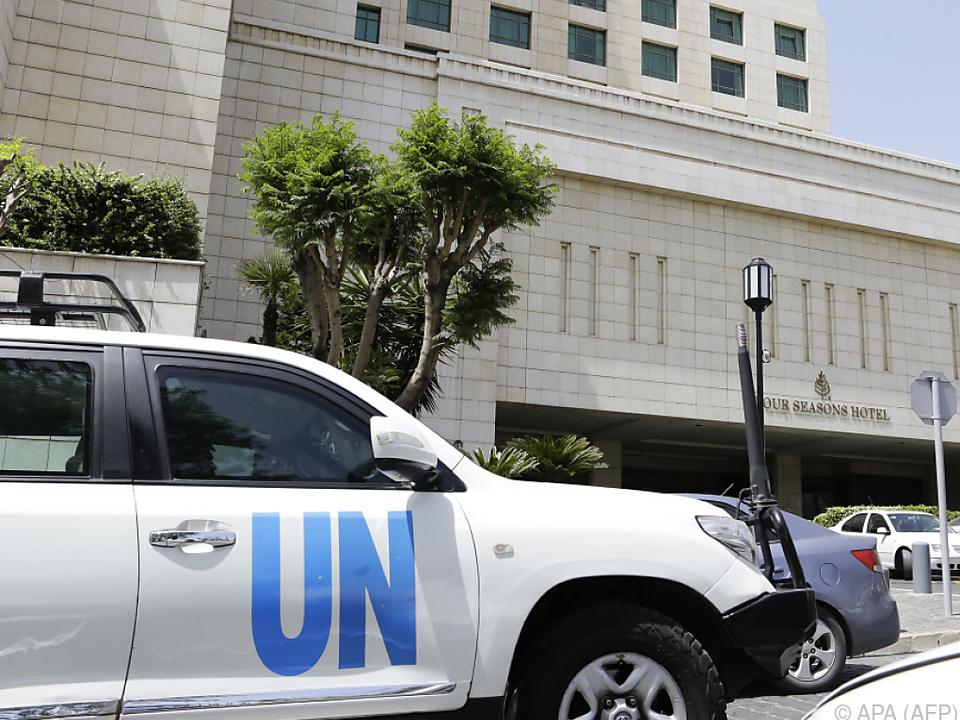 Internationale Giftgas-Experten befinden sich derzeit in Syrien
