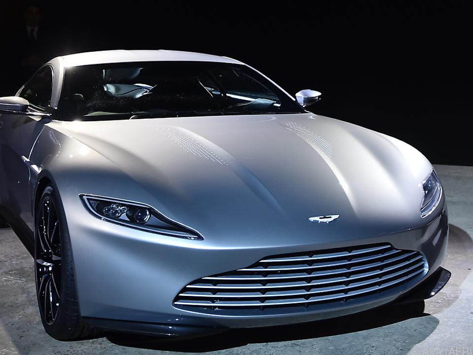 James Bond fährt üblicherweise Aston Martin