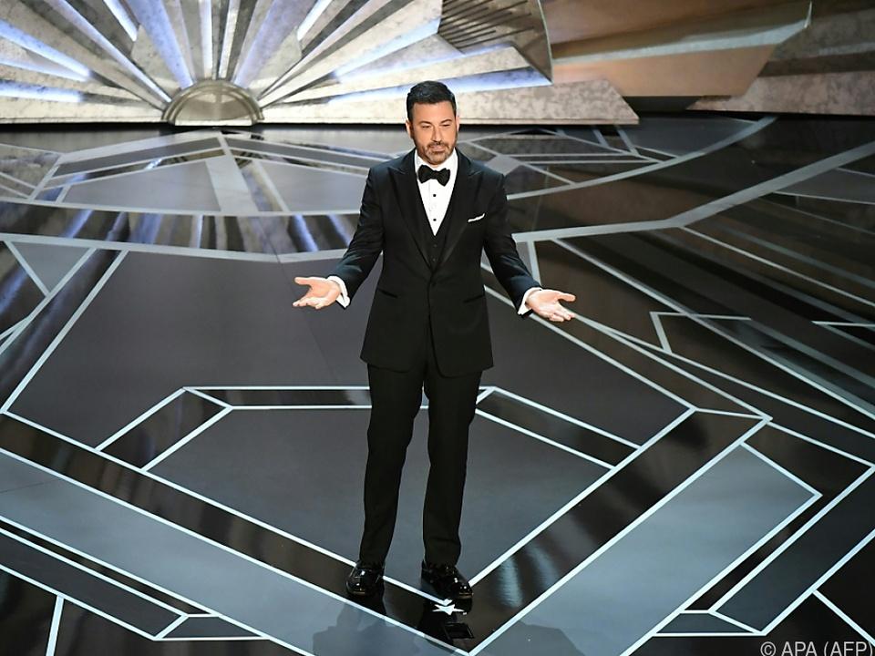 Jimmy Kimmel führte durch die diesjährigen Oscars