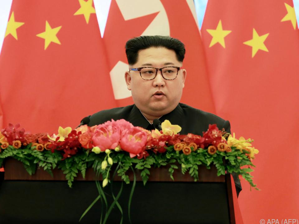 Jong-un schließt Gespräche nicht aus