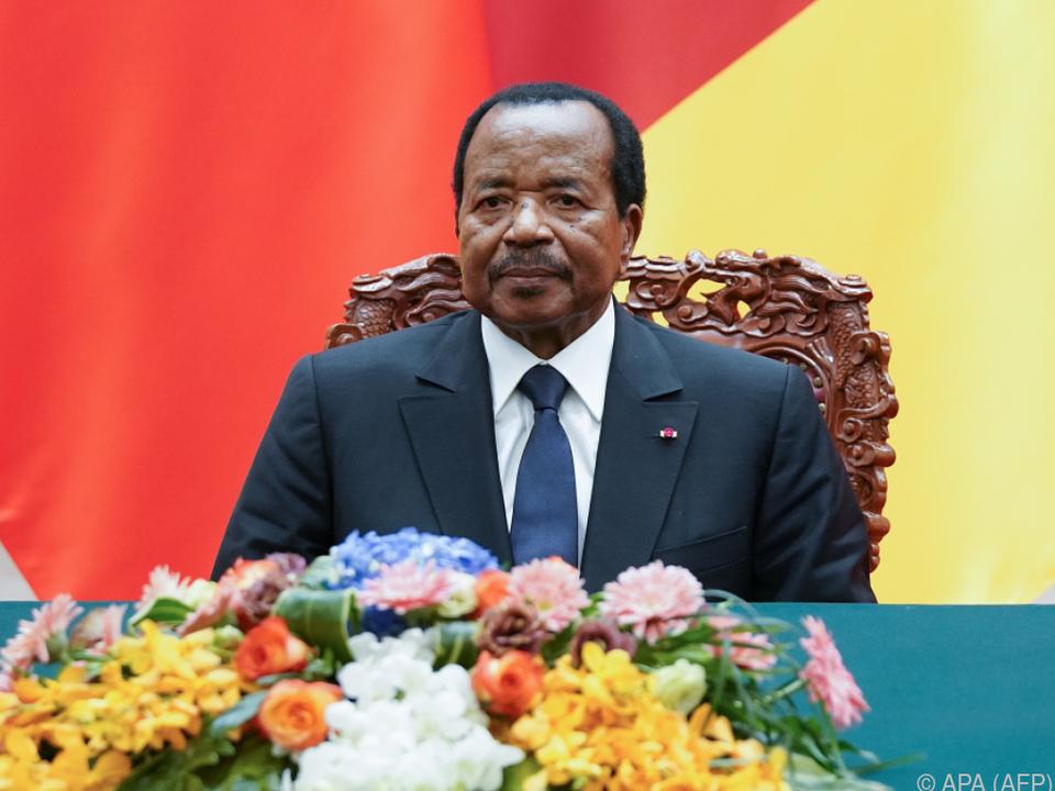 Kameruns Präsident Biya will mit Härte gegen Terroristen vorgehen