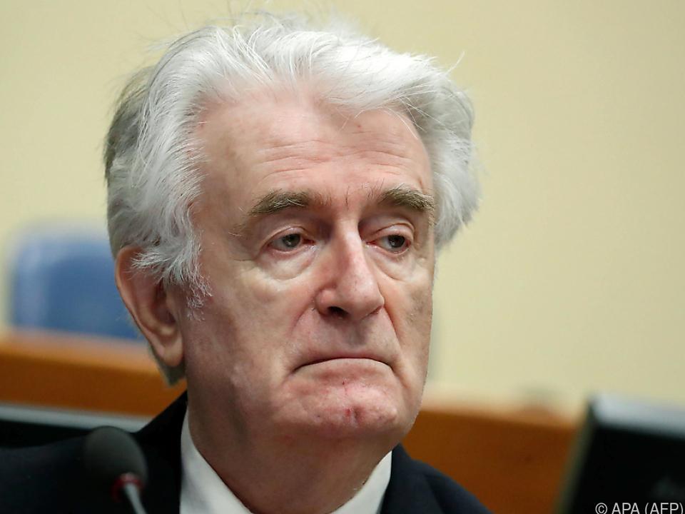 Karadzic fühlt sich unschuldig