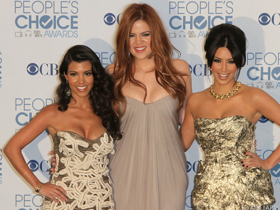 Kourtney, Khloe und Kim Kardashian verbaschieden sich von \