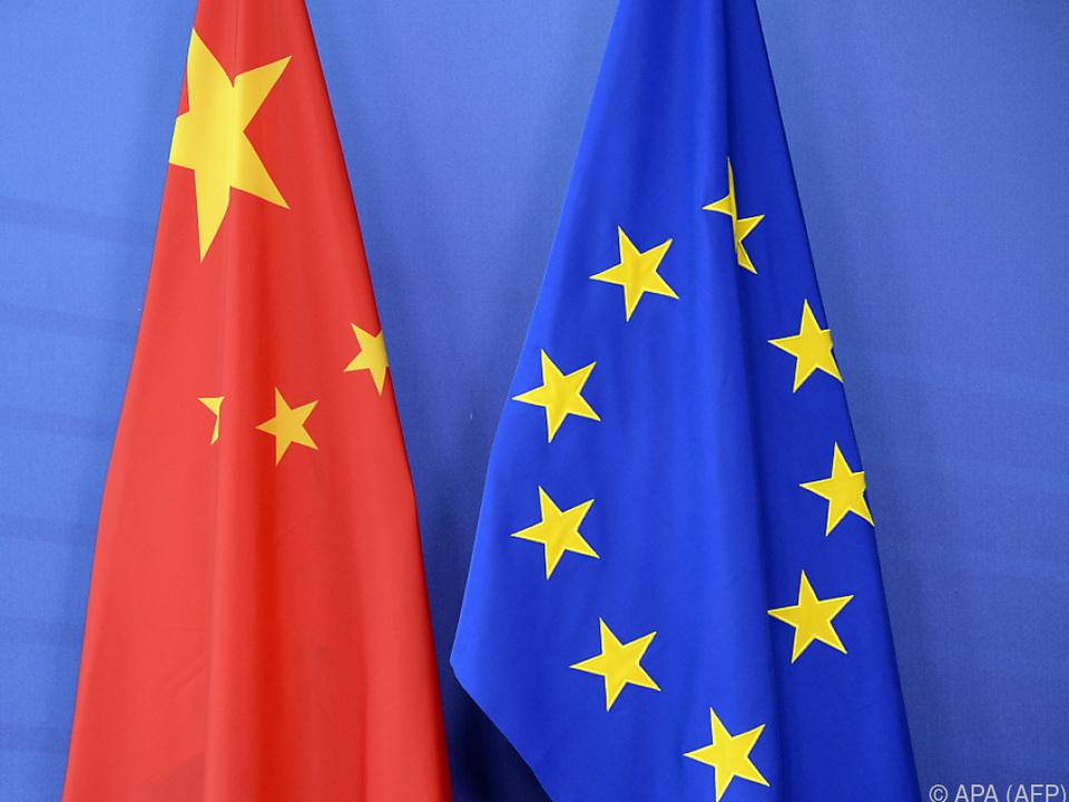 Kritische Töne der EU gegenüber China
