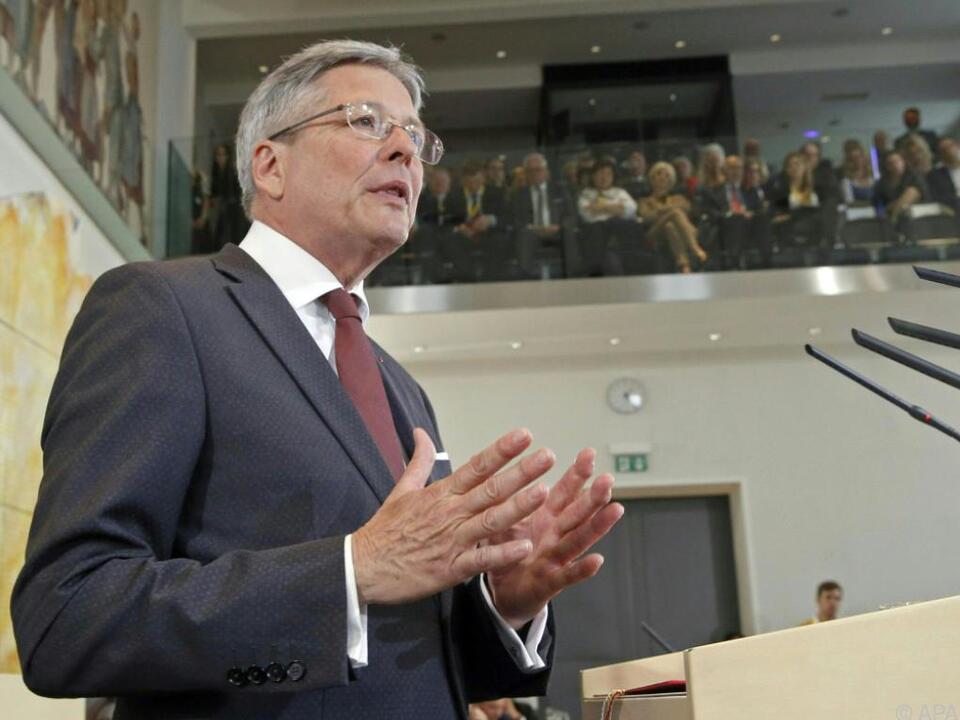 Landeshauptmann Kaiser hat sein Kabinett gebildet