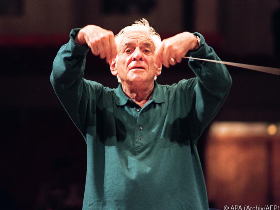 Leonard Bernstein wird angesichts seines 100ers geehrt