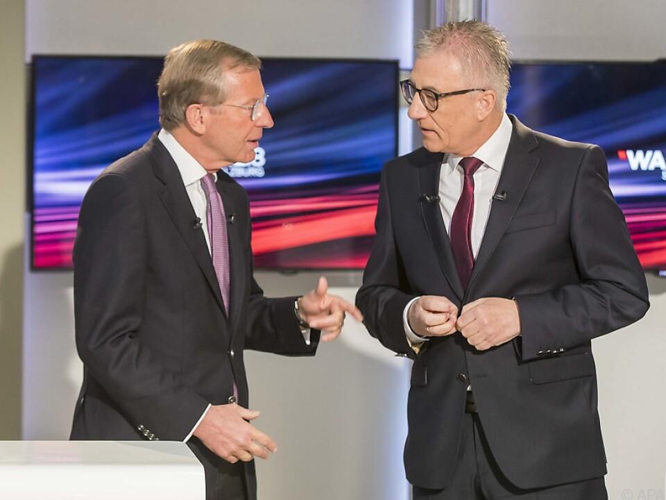 LH Haslauer und SP-Landeschef Steidl