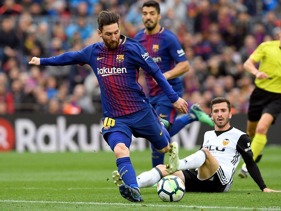 Lionel Messi und Co. gelang kleine Wiedergutmachung für das CL-Aus