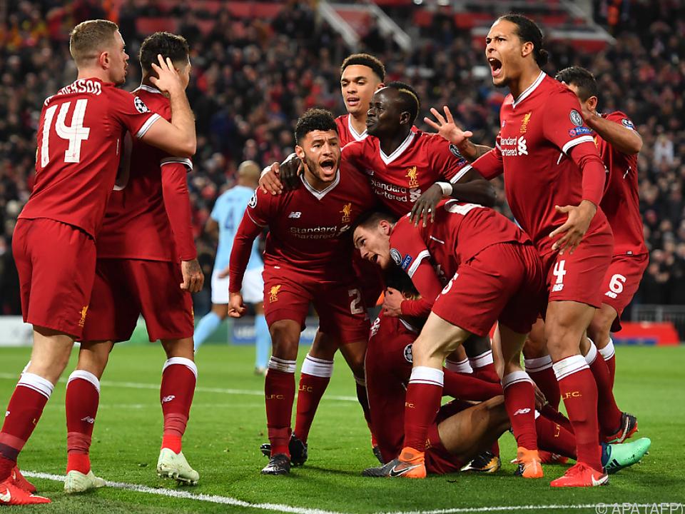 Liverpool steht vor Halbfinal-Einzug