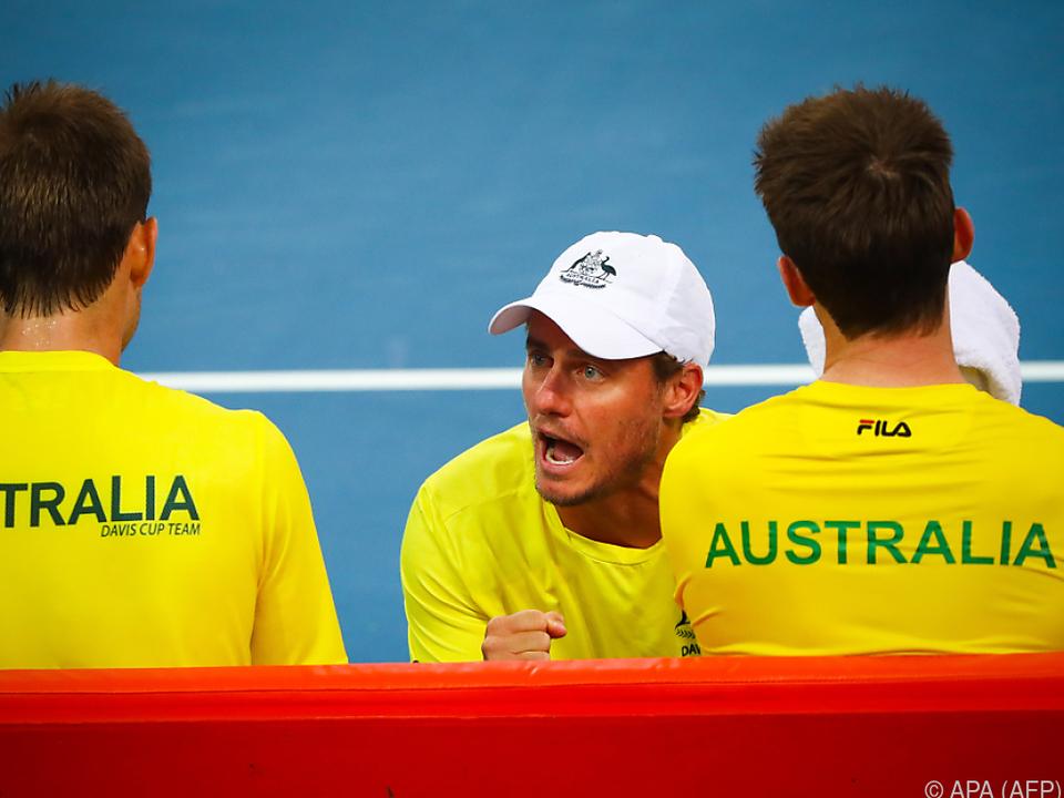Lleyton Hewitts australisches Team reist nach Österreich