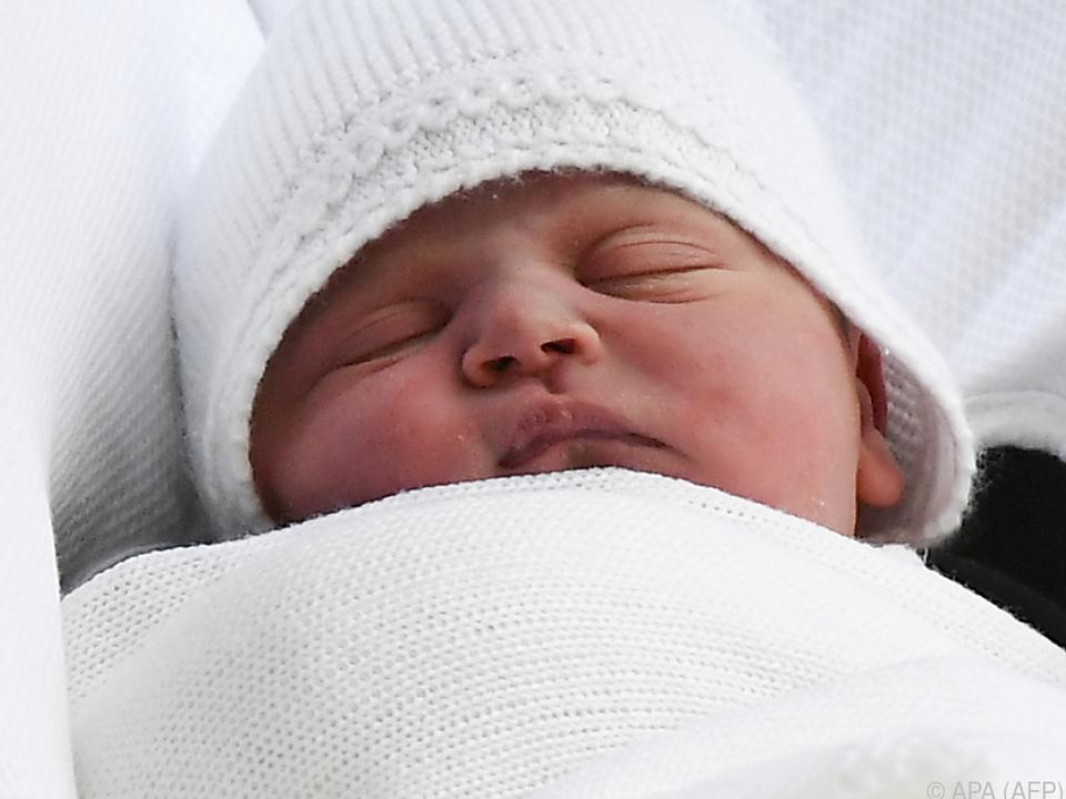Louis Arthur Charles heißt der kleine Prinz