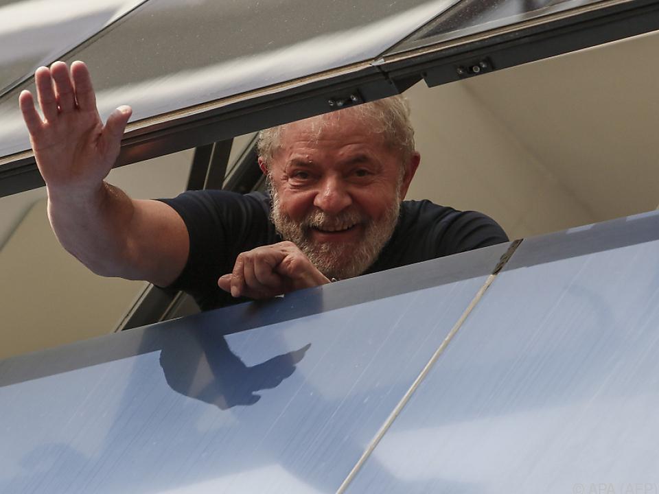 Lula muss ins Gefängnis