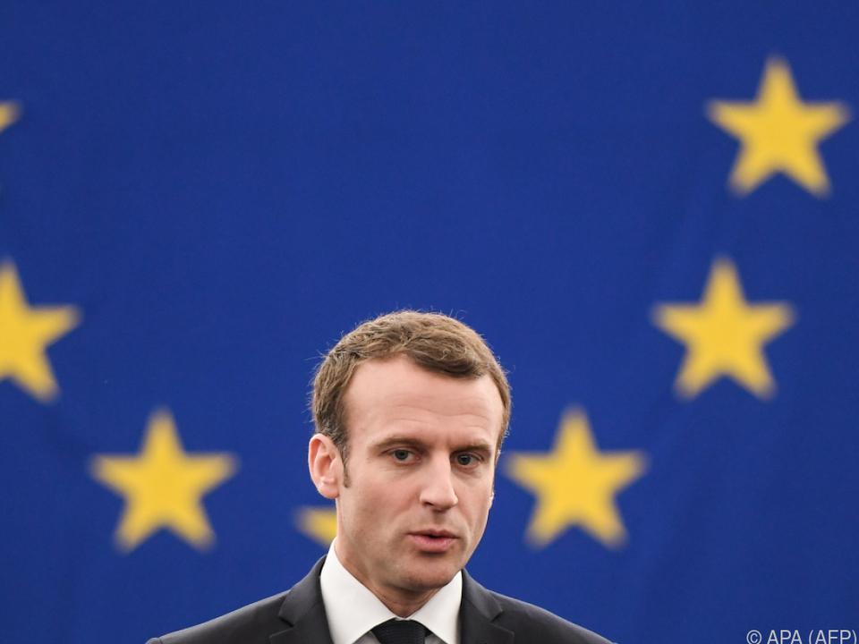 Macron betont euorpäische Kultur