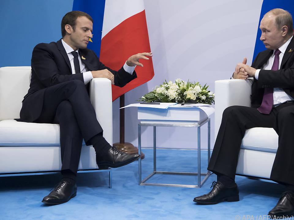Macron informierte Putin