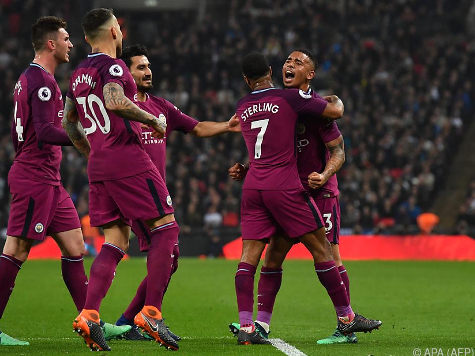 ManCity beendete Niederlagenserie gegen Tottenham