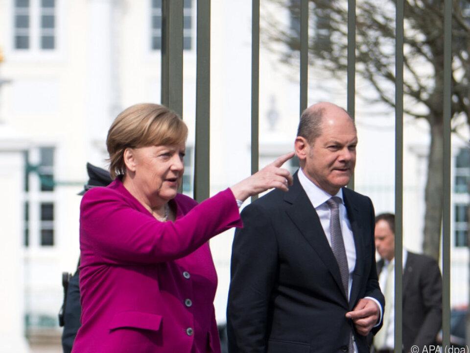 Merkel steht nicht so auf Absätze
