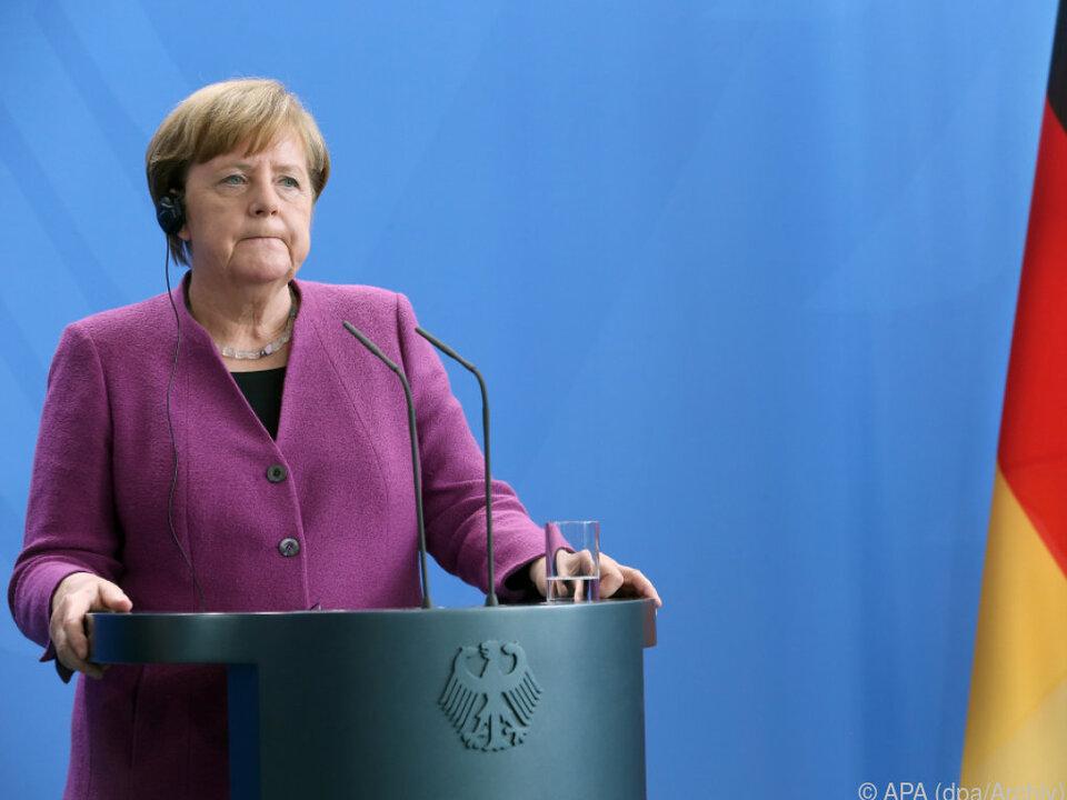 Merkel telefonierte mit Putin