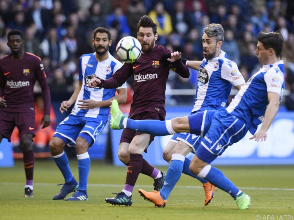 Messi sicherte Barcelona mit einem Triplepack das Double