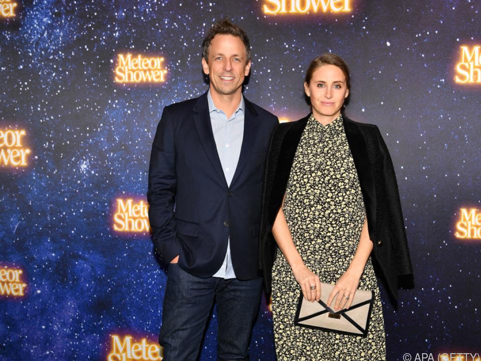Meyers mit seiner Frau Alexi Ashe