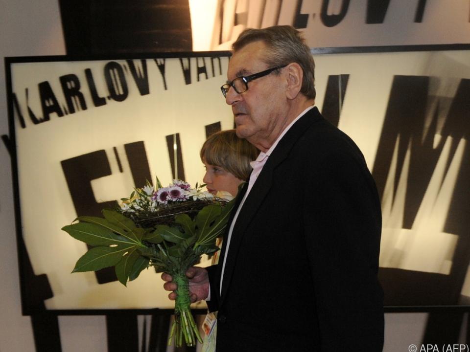 Milos Forman kam immer gern nach Karlsbad