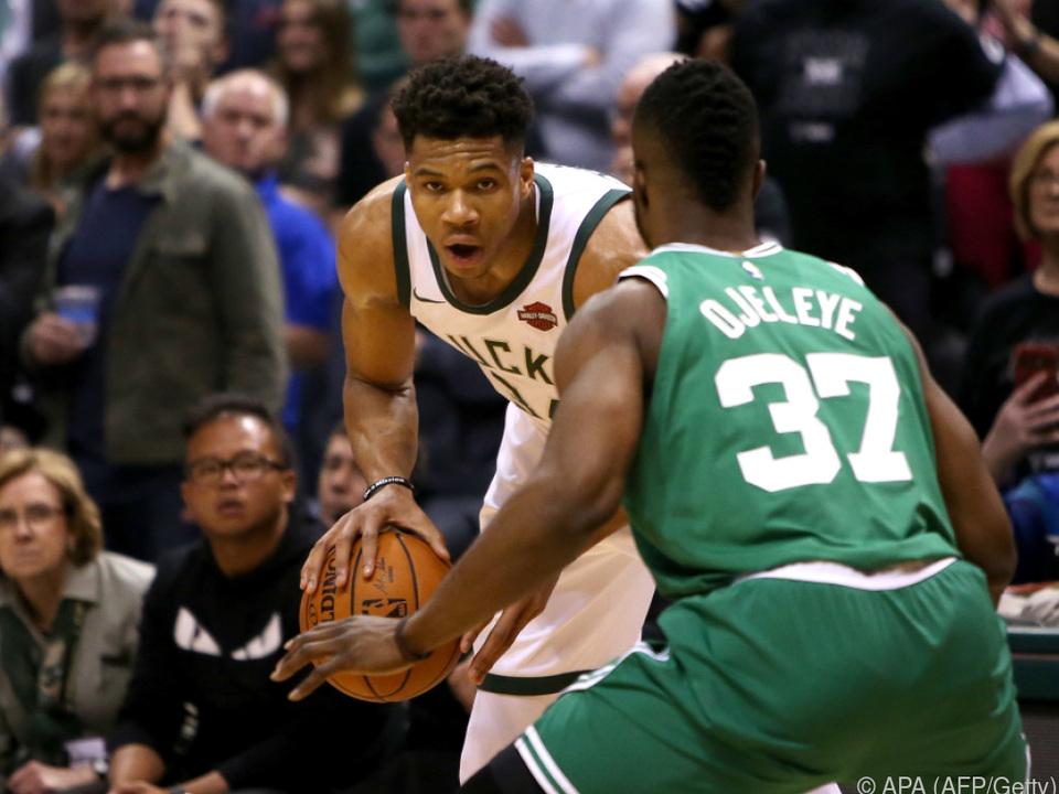 Milwaukee Bucks und Boston Celtics schenken sich nichts