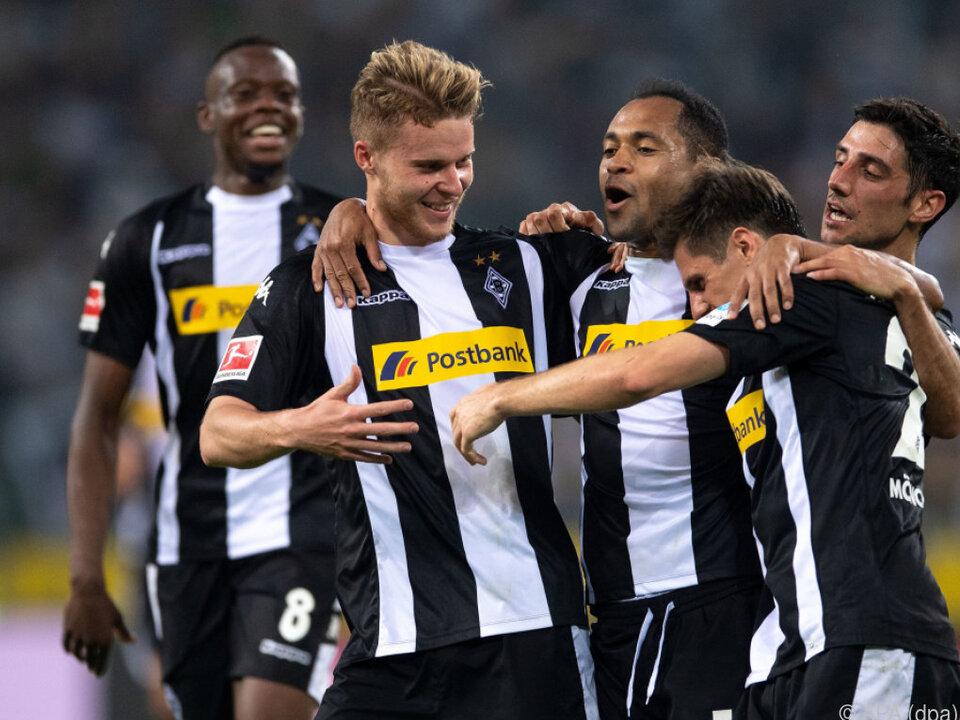 Mönchengladbach bleibt im Europacuprennen