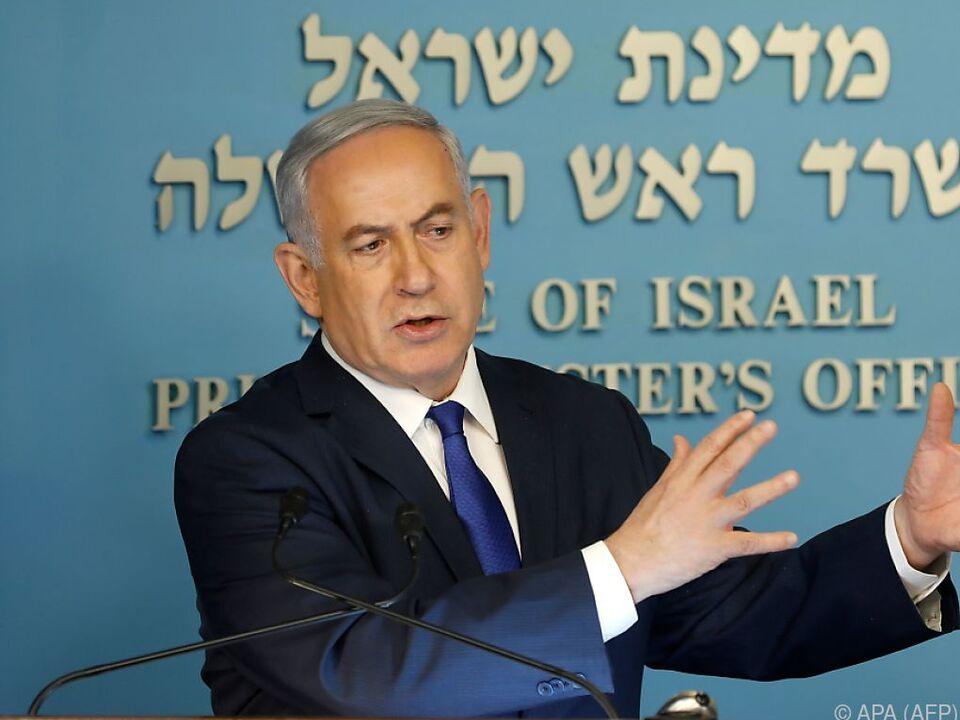 Netanyahu will die Kritik an der Übereinkunft berücksichtigen