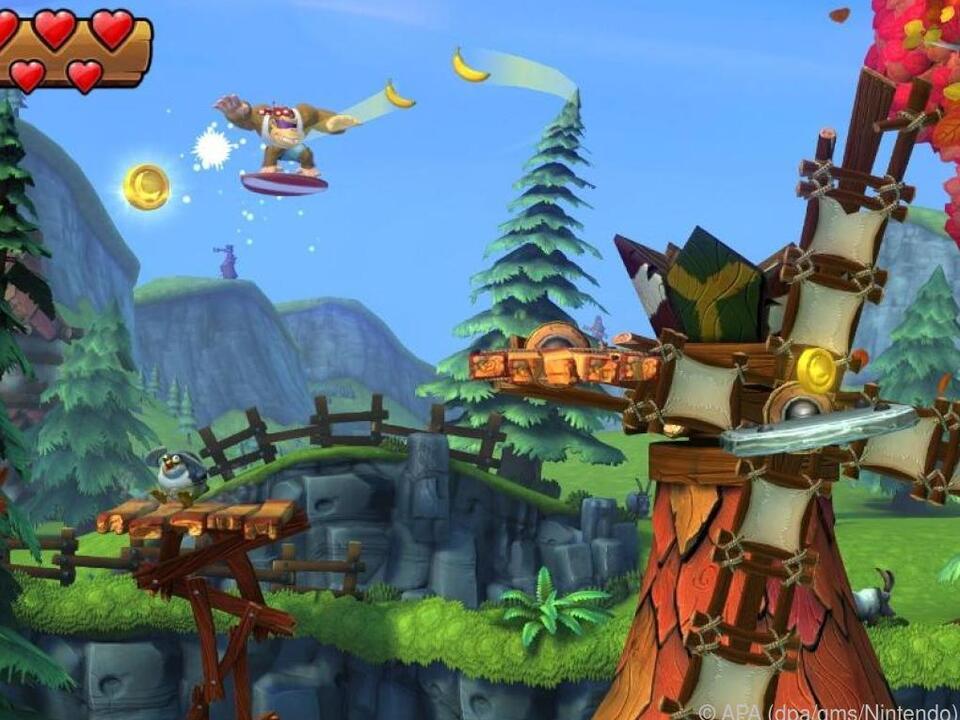 Funky Kong ist der neueste Zuwachs im Donkey-Konk-Clan