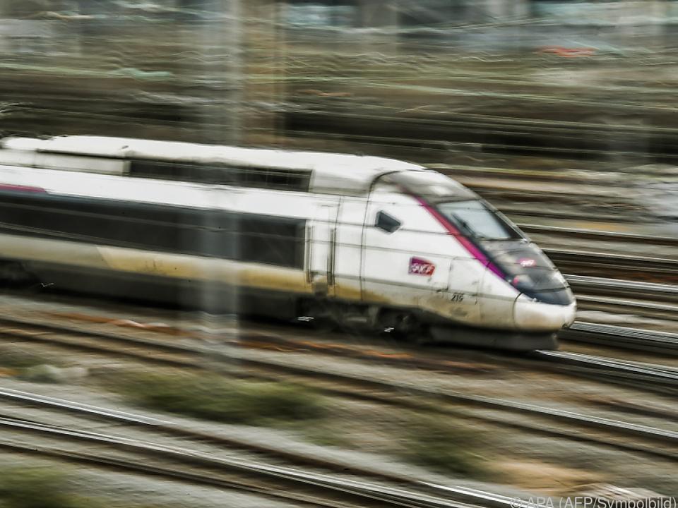 Nur 12 Prozent der TGVs werden fahren