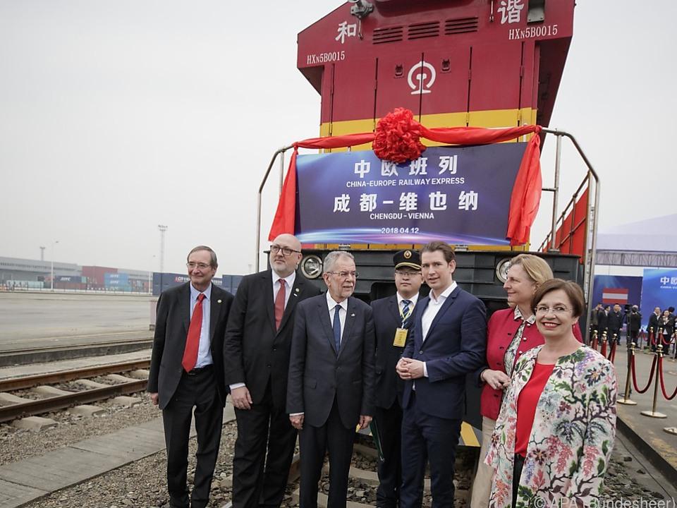 Österreich will Zugstrecke Chengdu-Wien intensivieren