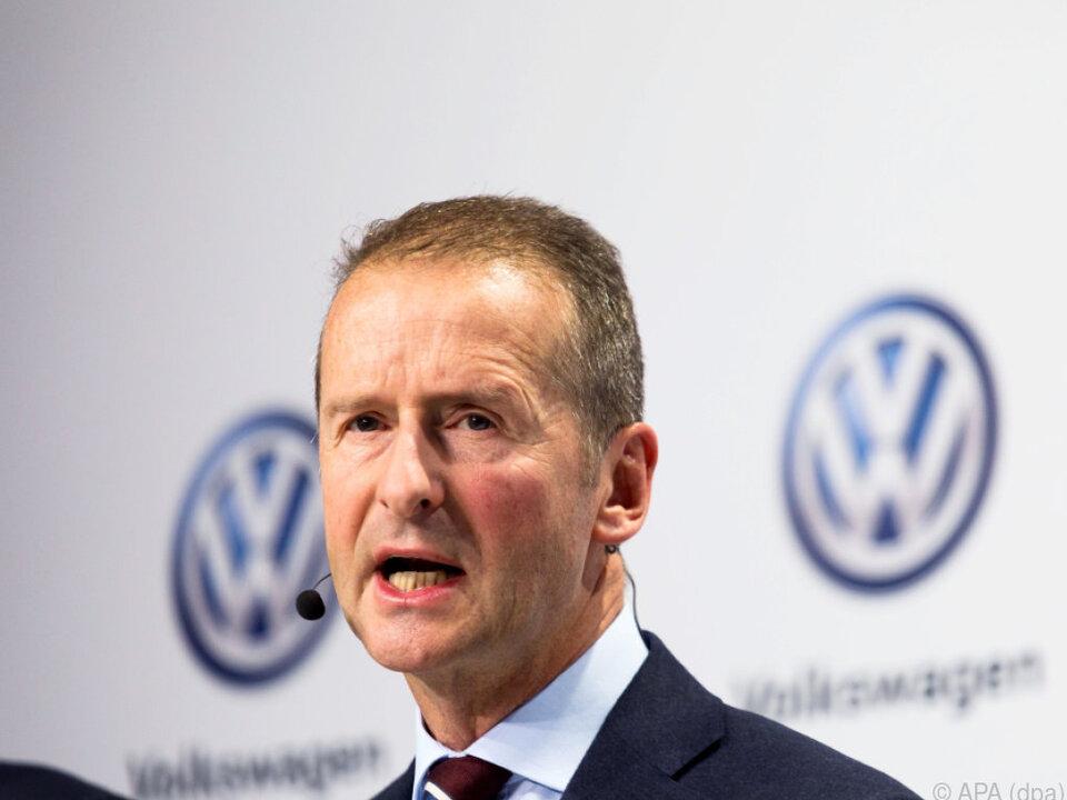 Österreicher Herbert Diess wird neuer VW-Chef