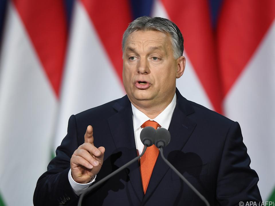 Orbans Regierung geriet ins Visier