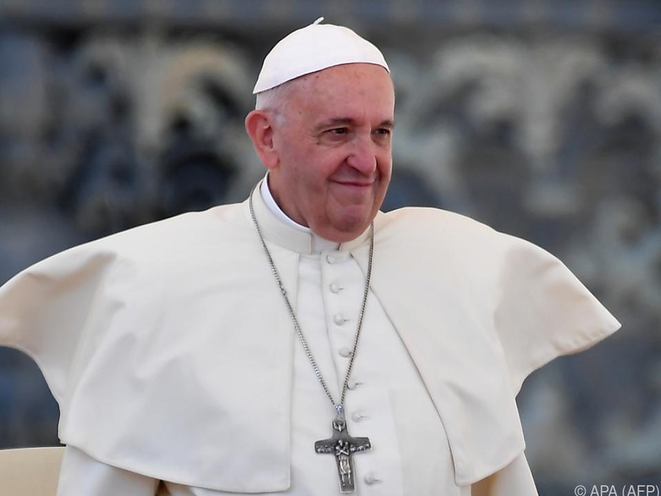 Papst Franziskus feiert seinen Namenstag