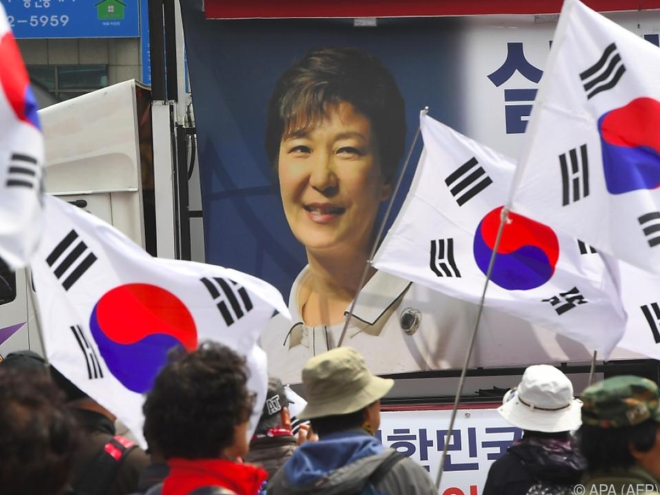 Park Geun-hye muss für lange Zeit ins Gefängnis