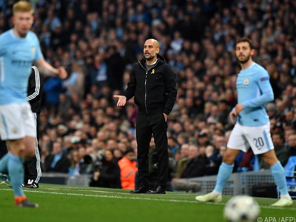Pep Guardiola durchlebte ein Auf und Ab der Gefühle