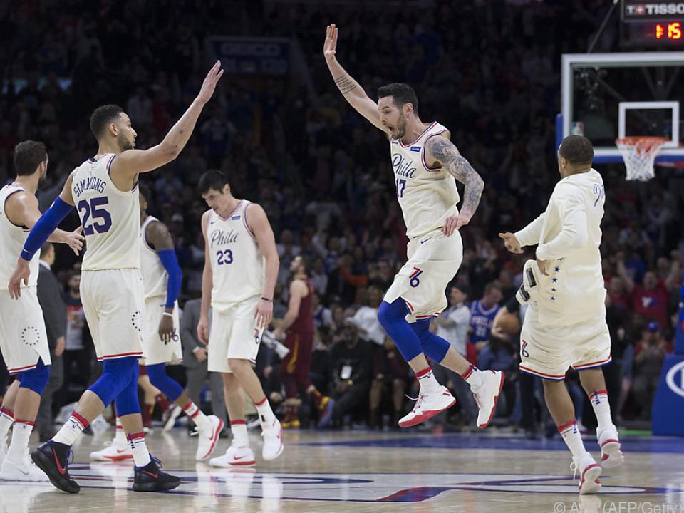 Philadelphia 76ers agieren weiter in Hochform