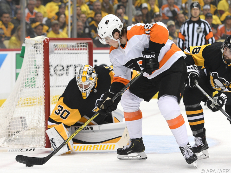 Philadelphia Flyers wurden den Pittsburgh Penguins nicht Herr