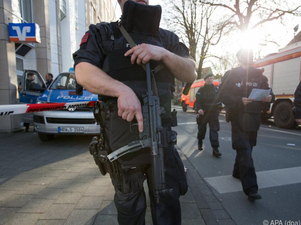 Polizei-Großeinsatz in Münster