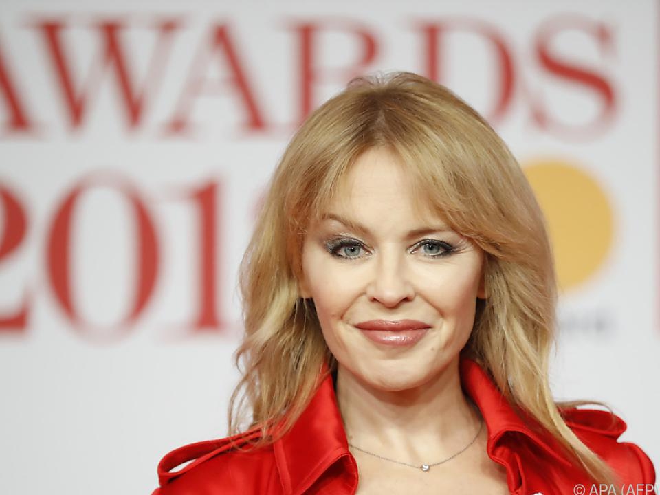 Pop-Ikone Kylie Minogue