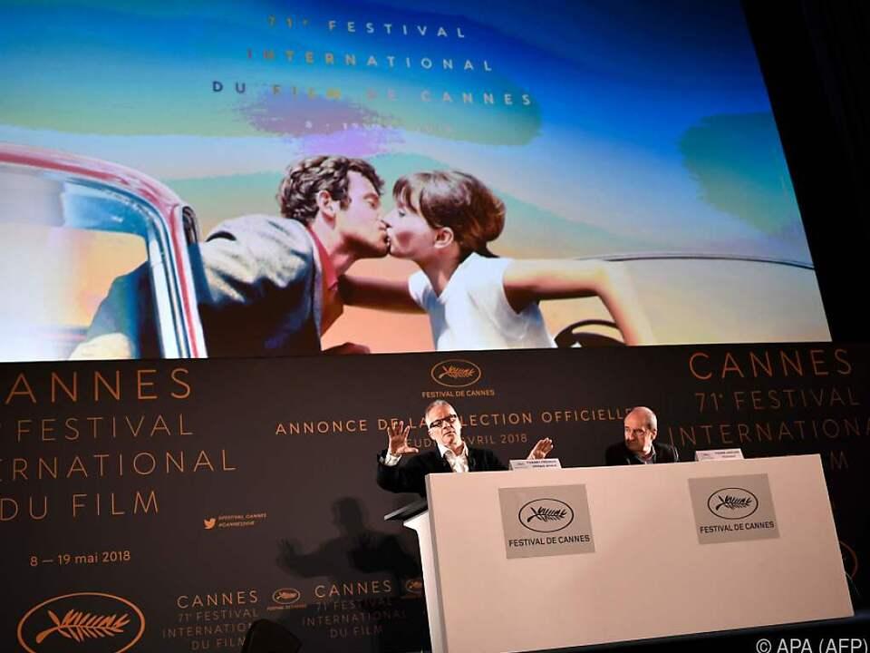 Präsentation der 71. Filmfestspiele am Donnerstag