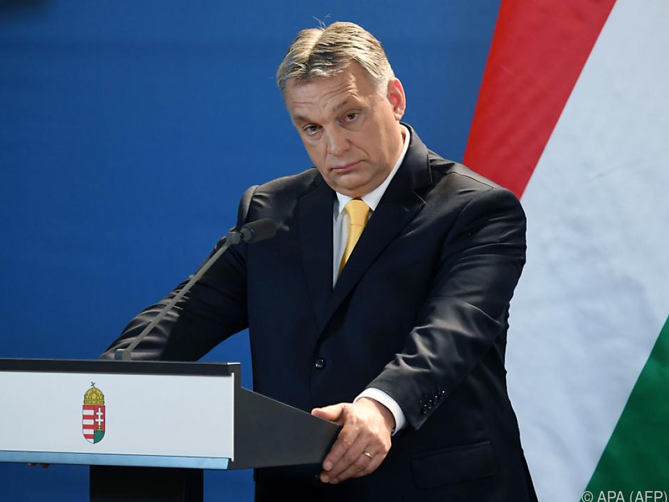 Premier Viktor Orban darf sich als Wahlsieger fühlen