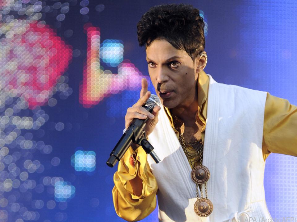 Prince war im April 2016 an einer Überdosis Schmerzmittel gestorben