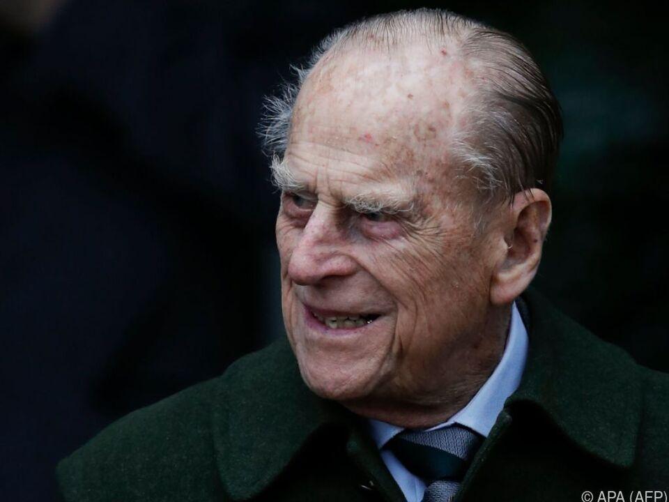 Prinz Philip geht es offenbar besser