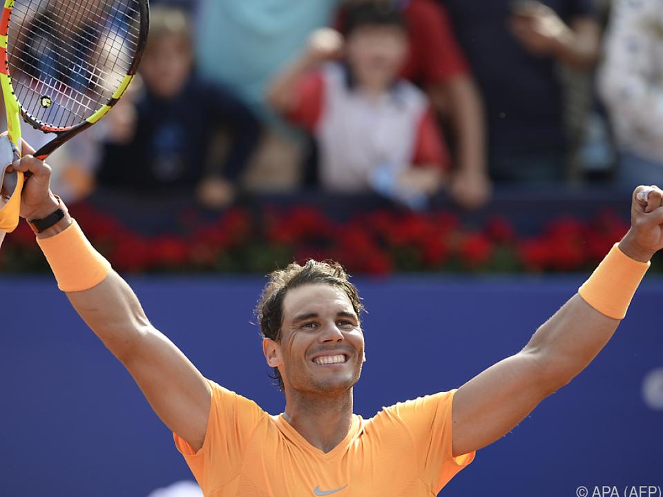 Rafael Nadal ist weiterhin nicht zu stoppen