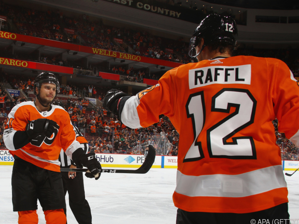 Raffl und die Flyers sind wieder im Rennen