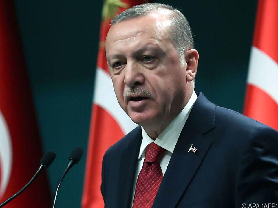 Recep Tayyip Erdogan schon wieder im Wahlkampfmodus