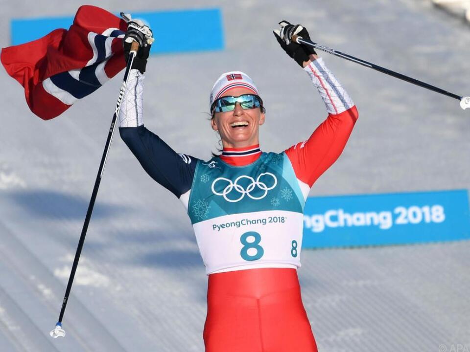Rekord-Olympiasiegerin Marit Björgen