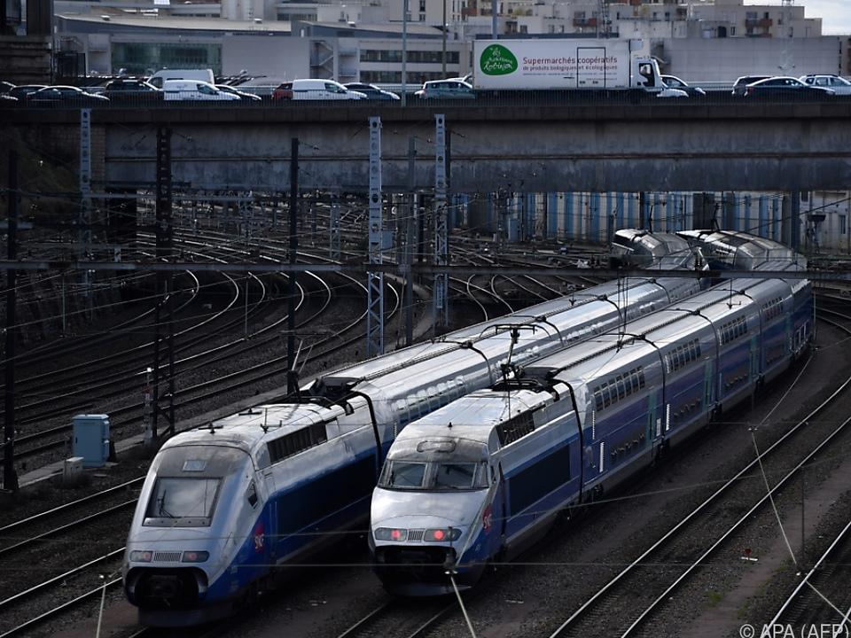 Rund zwei Drittel der TGV-Hochgeschwindigkeitszüge verkehren nicht